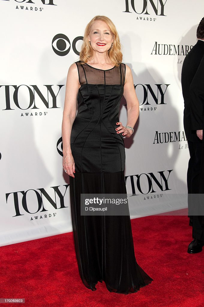 Patricia Clarkson attends the 67th Annual Tony Awards at Radio City Music Hall on June 9, 2013 in New York City.
