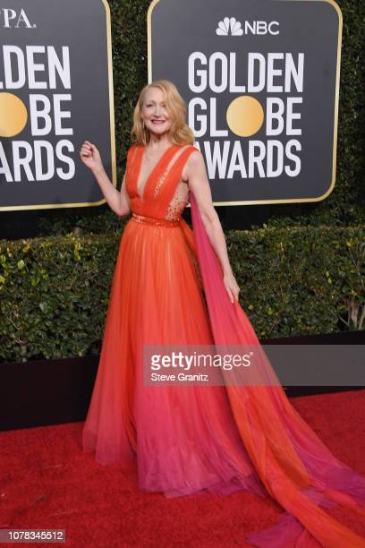Patricia Clarkson attends the 76th Annual Golden Globe Awards at The Beverly Hilton Hotel on January 6 2019 in Beverly Hills California