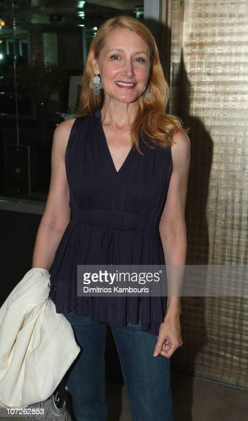 Patricia Clarkson attends the after party for The Cinema Society and Details Magazine Screening of Gone Baby Gone at the SoHo Grand Penthouse on...