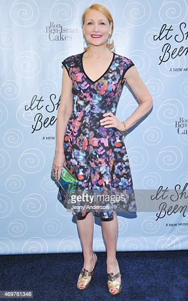 Patricia Clarkson attends the Broadway opening night of 'It Shoulda Been You' at Brooks Atkinson Theatre on April 14 2015 in New York City