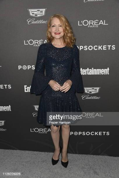 Patricia Clarkson attends the Entertainment Weekly PreSAG Party at Chateau Marmont on January 26 2019 in Los Angeles California