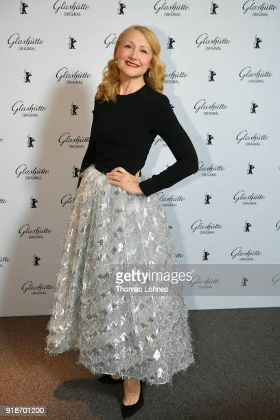 Patricia Clarkson attends the Glashuette Original Lounge at The 68th Berlinale International Film Festival at Grand Hyatt Hotel on February 15 2018...