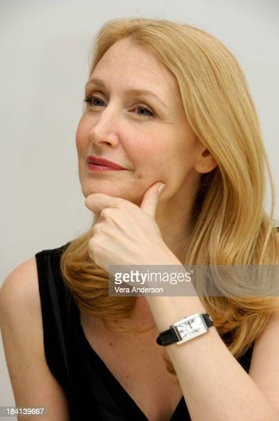 Patricia Clarkson attends the Married Life press conference at the Four Seasons Hotel on March 3 2008 in Beverly Hills California
