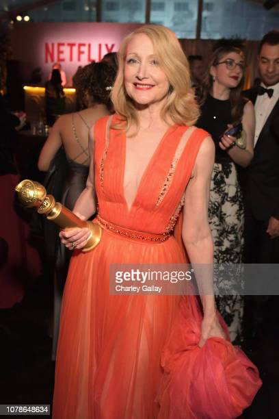 Patricia Clarkson attends the Netflix 2019 Golden Globes After Party on January 6 2019 in Los Angeles California