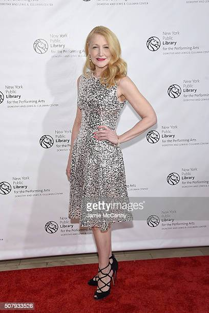 Patricia Clarkson attends The New York Public Library For The Performing Arts' 50th Anniversary Gala at The New York Public Library Stephen A...