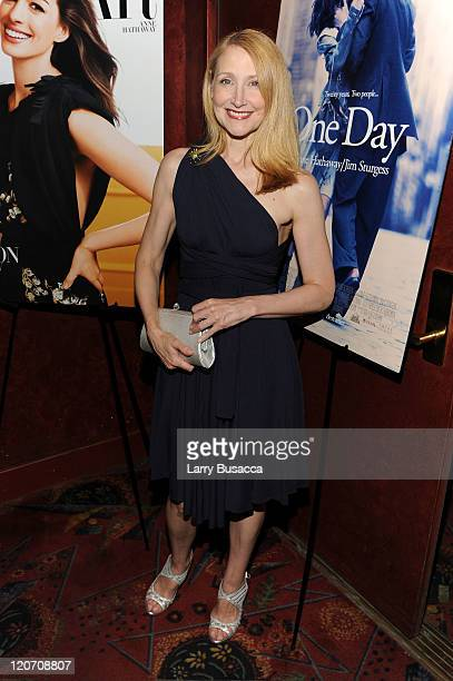 "Patricia Clarkson attends the ""One Day"" premiere after party at the Russian Tea Room on August 8, 2011 in New York City."