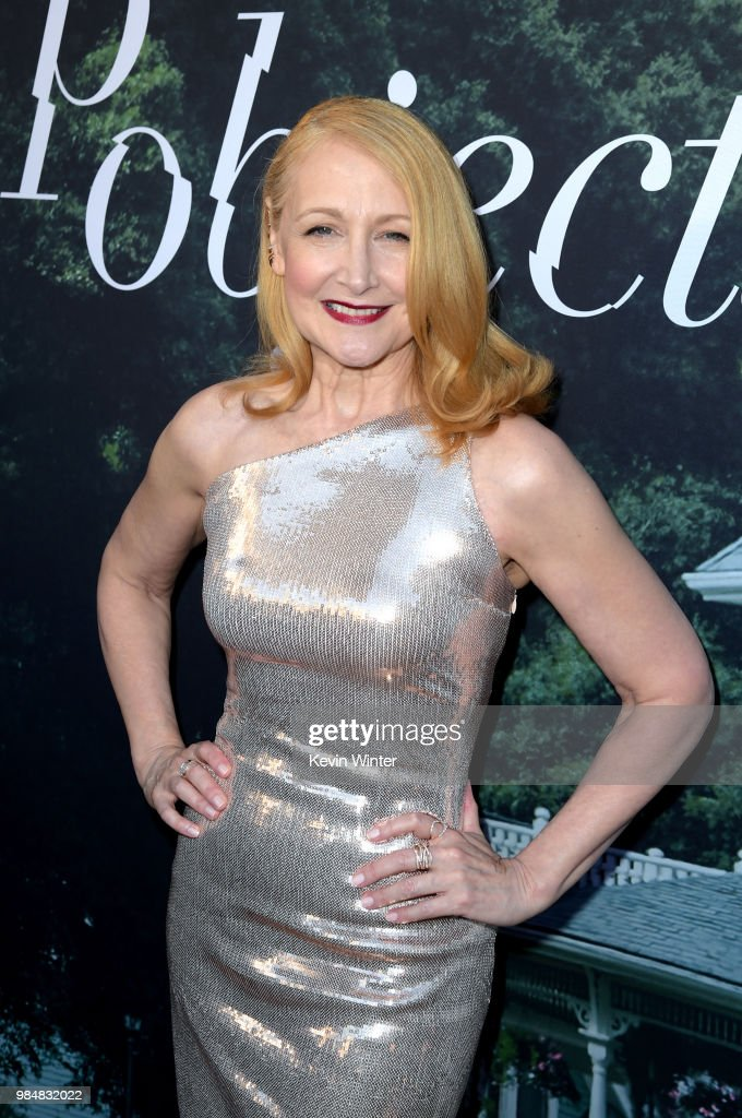 Patricia Clarkson attends the premiere of HBO's 'Sharp Objects' at The Cinerama Dome on June 26, 2018 in Los Angeles, California.