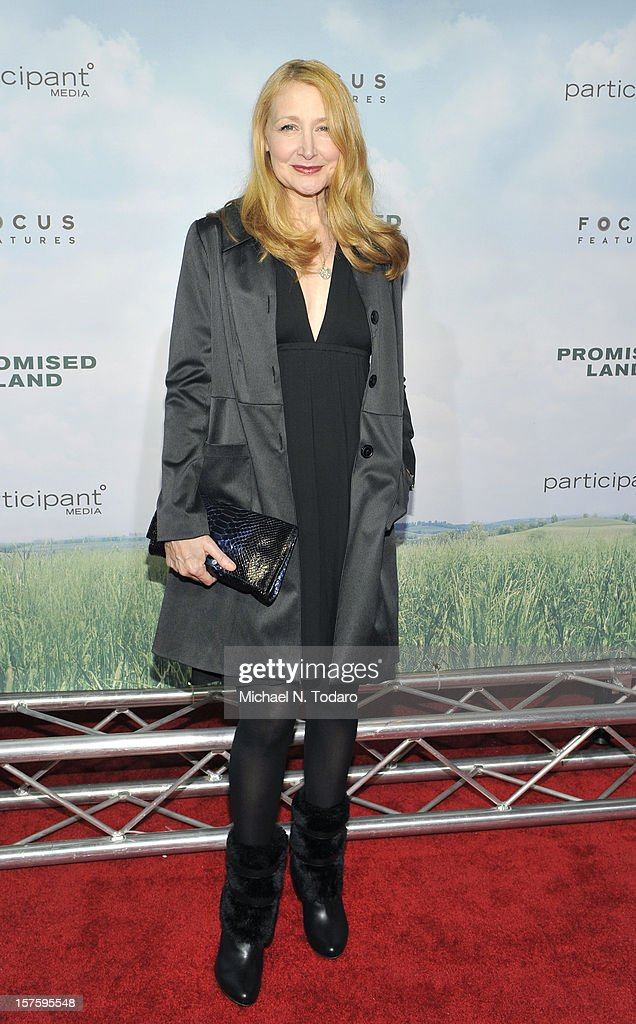Patricia Clarkson attends the 'Promised Land' premiere at AMC Loews Lincoln Square 13 on December 4, 2012 in New York City.
