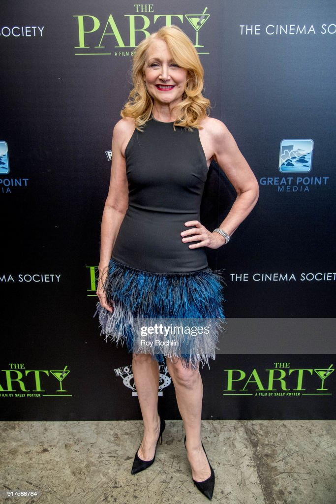Patricia Clarkson attends the screening of 'The Party' hosted by Roadside Attractions and Great Point Media with The Cinema Society at Metrograph on February 12, 2018 in New York City.