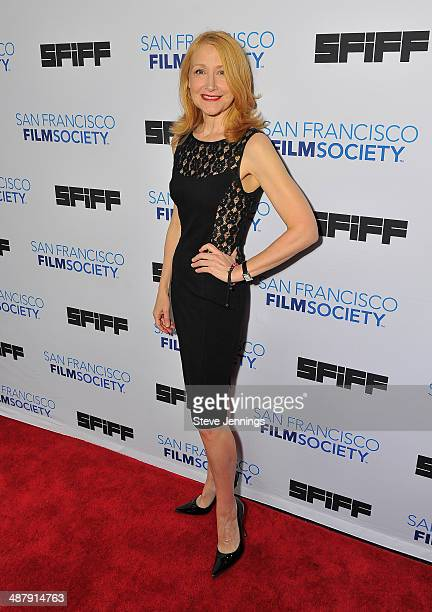 Patricia Clarkson attends the world premiere of 'Last Weekend' at the 57th San Francisco International Film Festival at Sundance Kabuki Cinemas on...