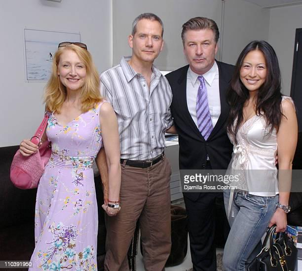 Patricia Clarkson, Campbell Scott, Alec Baldwin and Nicole Seidel