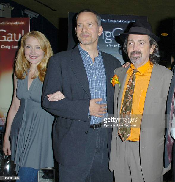 Patricia Clarkson, Campbell Scott and Craig Lucas