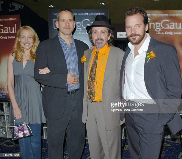 Patricia Clarkson, Campbell Scott, Craig Lucas and Peter Sarsgaard