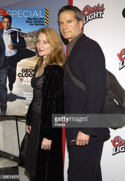 Patricia Clarkson Campbell Scott during Confessions of A Dangerous Mind New York Premiere Inside Arrivals at Paris Theater in New York City New York...