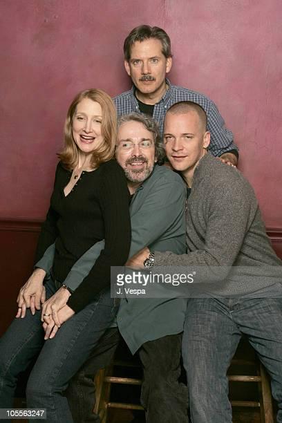 Patricia Clarkson, Craig Lucas, director, Campbell Scott and Peter Sarsgaard