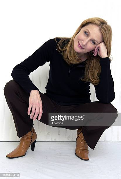 Patricia Clarkson during 2003 Sundance Film Festival 'The Station Agent' Portraits at Yahoo Movies Portrait Studio in Park City Utah United States