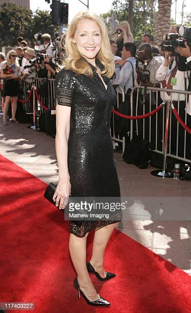 Patricia Clarkson during 58th Annual Creative Arts Emmy Awards Arrivals at The Shrine Auditorium in Los Angeles California United States