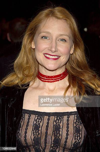 Patricia Clarkson during Far From Heaven Premiere in New York New York United States