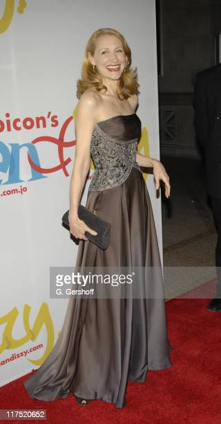 """Patricia Clarkson during Gala Dinner Introducing """"Ben and Izzy"""" with Special Guest Her Majesty Queen Rania Al-Abdullah of Jordan at Metropolitan..."""