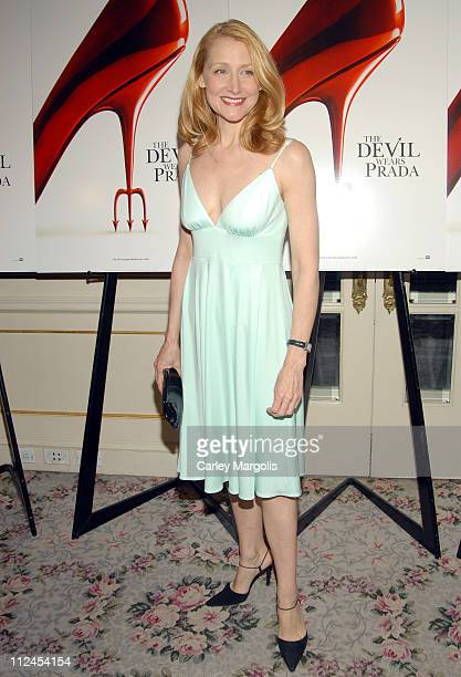 "Patricia Clarkson during ""The Devil Wears Prada"" - A Dinner and Private Auction Hosted by the St. Regis Hotel - May 23, 2006 at St. Regis Hotel in..."