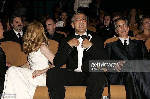 Patricia Clarkson George Clooney and David Strathairn