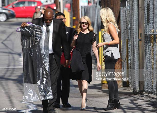 Patricia Clarkson is seen on August 24 2015 in Los Angeles California