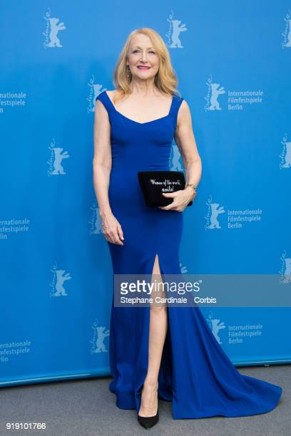 Patricia Clarkson poses at the 'The Bookshop' photo call during the 68th Berlinale International Film Festival Berlin at Grand Hyatt Hotel on...