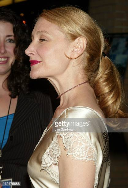 Patricia Clarkson side view of hair during 'Pieces of April' New York City Premiere at Landmark's Sunshine Theater in New York City New York United...