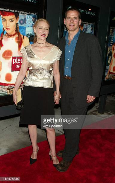 Patricia Clarksona and Campbell Scott during 'Pieces of April' New York City Premiere at Landmark's Sunshine Theater in New York City New York United...