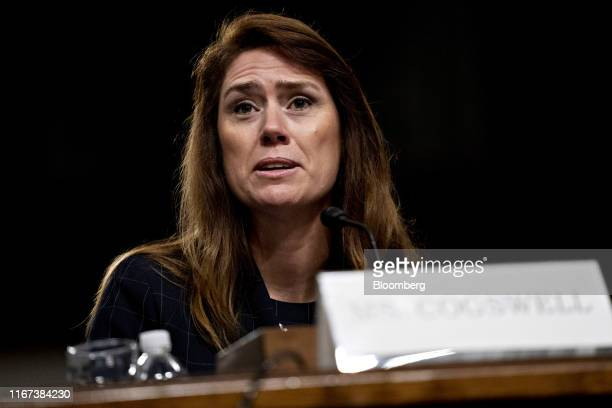 Patricia Cogswell, acting deputy administrator of the Transportation Security Administration , speaks during a Senate Commerce, Science and...