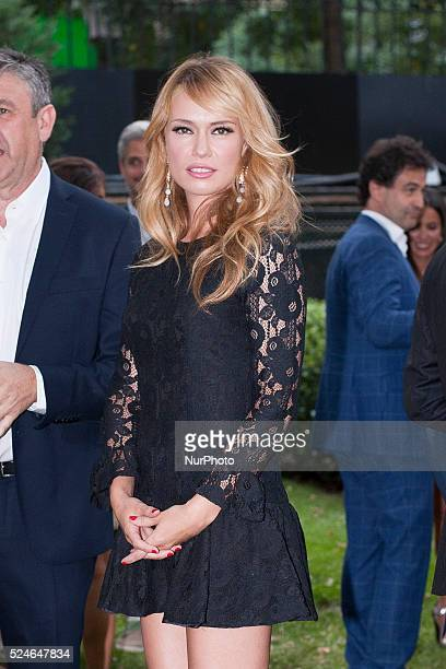 Patricia Conde attends Elle Gourmet Awards photocall at Italian Embassy on July 6 2015 in Madrid Spain