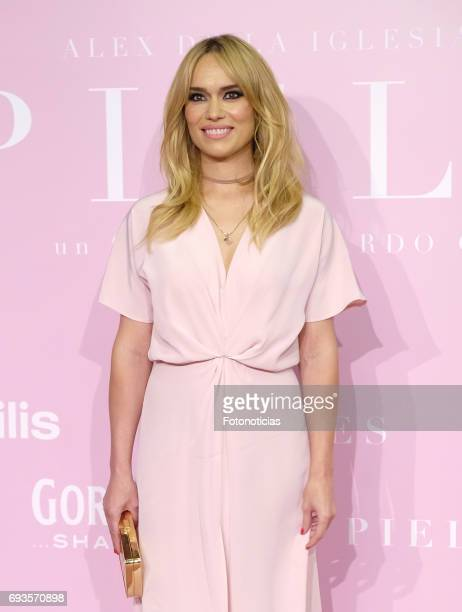 Patricia Conde attends the 'Pieles' premiere pink carpet at Capitol cinema on June 7 2017 in Madrid Spain
