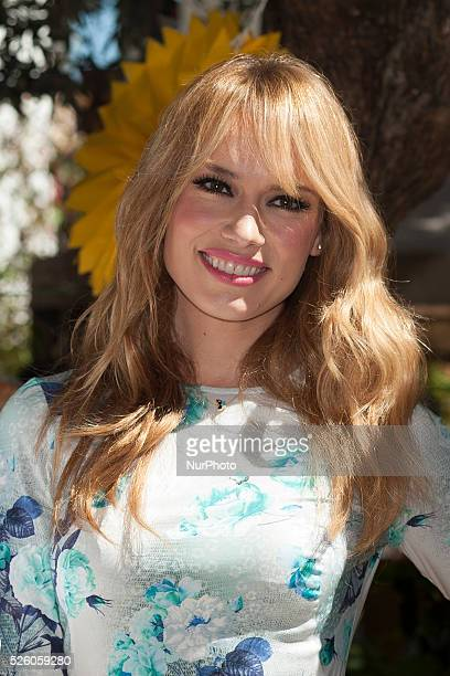 Patricia Conde has gluten free diet day in the garden of the angel on May 27 2015 in Madrid Spain