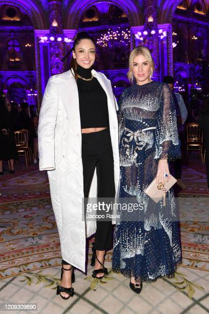 Patricia Contreras and Hofit Golan attend the Redemption show as part of the Paris Fashion Week Womenswear Fall/Winter 2020/2021 on February 28 2020...