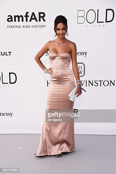 Patricia Contreras arrives at amfAR's 23rd Cinema Against AIDS Gala at Hotel du CapEdenRoc on May 19 2016 in Cap d'Antibes France