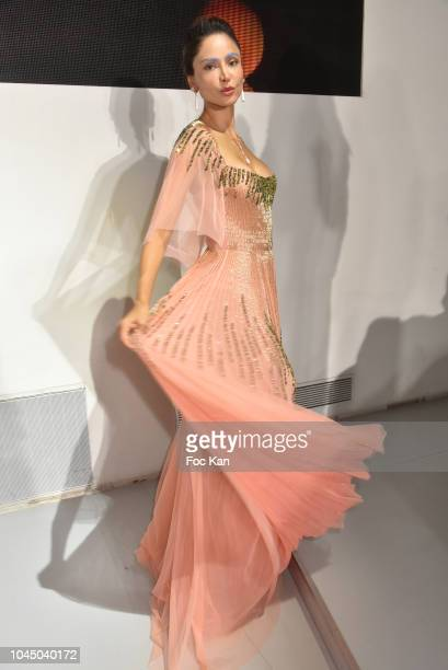 Patricia Contreras attends the Christophe Guillarme show as part of the Paris Fashion Week Womenswear Spring/Summer 2019 on October 2 2018 in Paris...