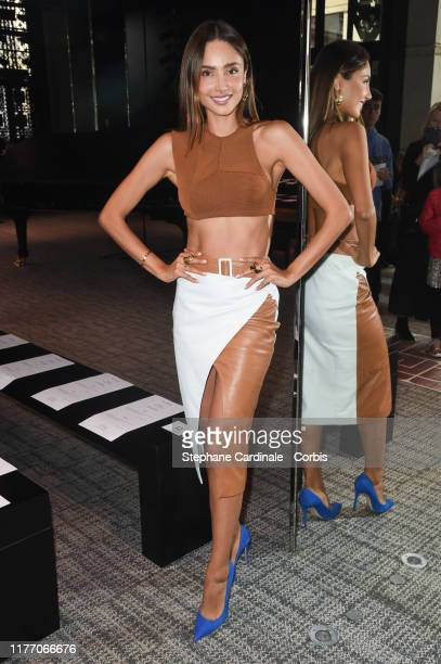 Patricia Contreras attends the Guy Laroche Womenswear Spring/Summer 2020 show as part of Paris Fashion Week on September 25 2019 in Paris France