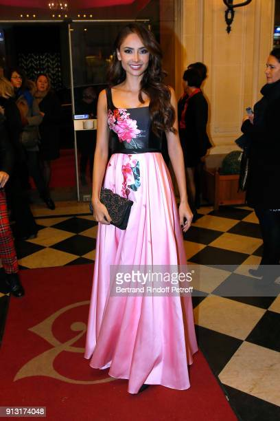 Patricia Contreras attends the Heart Gala Evening to benefit the Mecenat Chirurgie Cardiaque at Salle Gaveau on February 1 2018 in Paris France