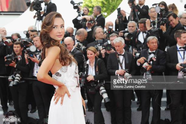 Patricia Contreras attends the screening of Everybody Knows and the opening gala during the 71st annual Cannes Film Festival at Palais des Festivals...