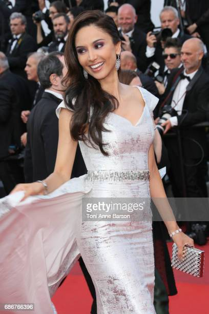Patricia Contreras attends the 'The Meyerowitz Stories' screening during the 70th annual Cannes Film Festival at Palais des Festivals on May 21 2017...