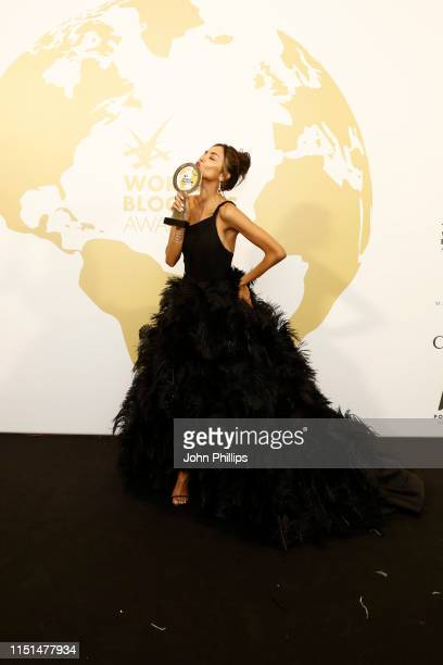 Patricia Contreras attends theInaugural 'World Bloggers Awards' during the 72nd annual Cannes Film Festival on May 24, 2019 in Cannes, France. The...