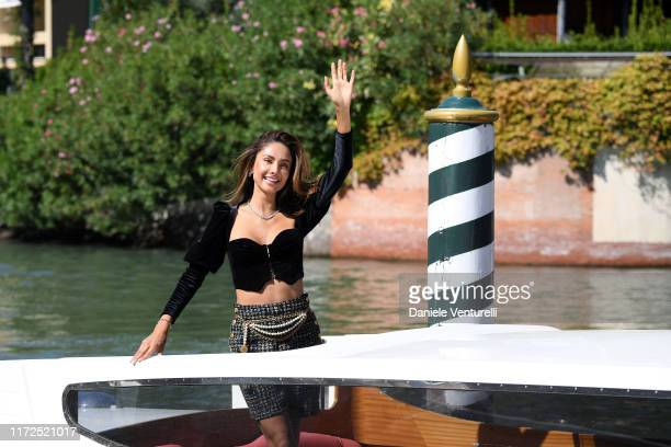 Patricia Contreras is seen arriving at the 76th Venice Film Festival on September 05 2019 in Venice Italy