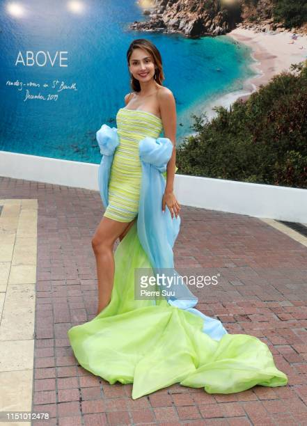 Patricia Contreras is seen at the Majestic hotel during the 72nd annual Cannes Film Festival at on May 22 2019 in Cannes France
