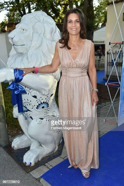Patricia Cronemeyer during the dinner Royal at the Gruenwalder Einkehr on July 12 2018 in Munich Germany