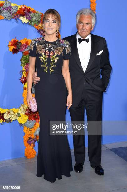 Patricia d'Arenberg and Jean Paul Enthoven attend the opening season gala at Opera Garnier on September 21 2017 in Paris France