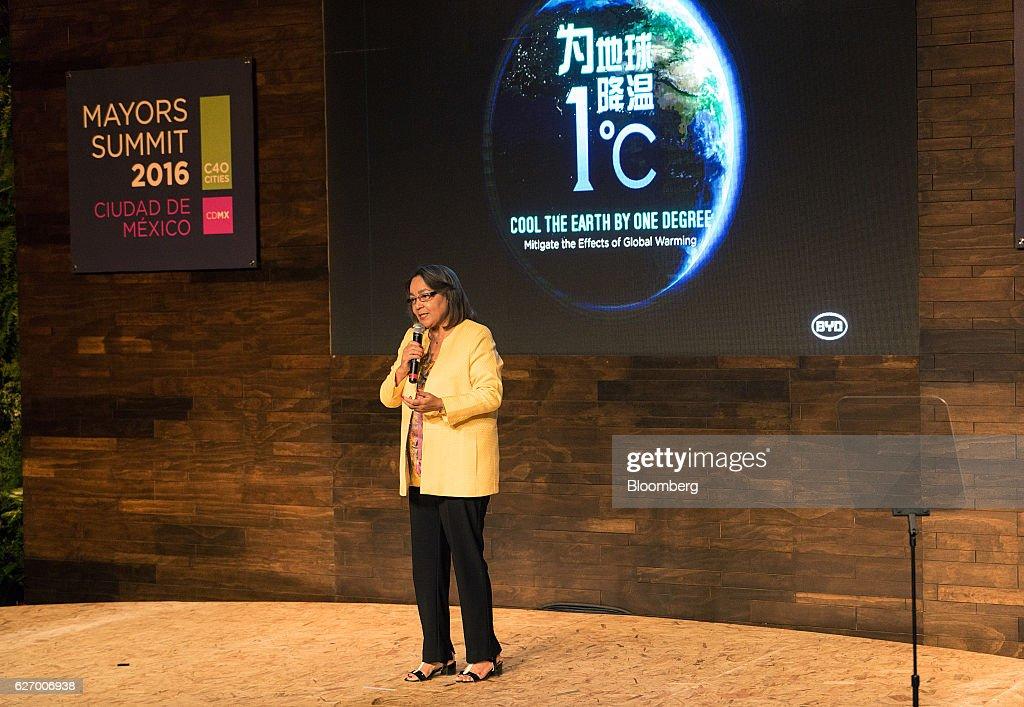 Key Speakers At the C40 Mayors Summit : News Photo