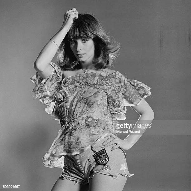 Patricia 'Dee Dee' Wilde of British TV dance troupe Pan's People January 1976 Pan's People are a regular feature of the BBC TV show 'Top Of The Pops'