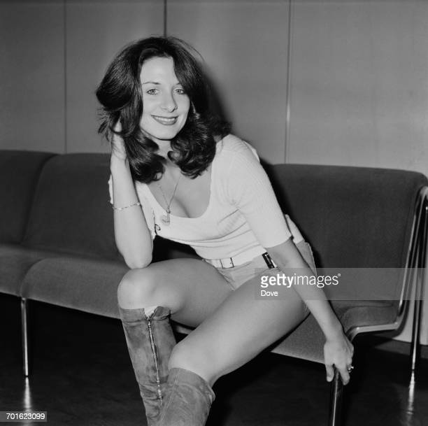 Patricia 'Dee Dee' Wilde of the dance troupe Pan's People arrives at London Airport from Munich 6th November 1971