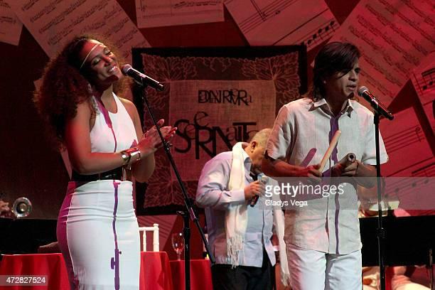 Patricia Diego perform in Danny Rivera Concert 'Serenata A Las Madres' on May 9 2015 in San Juan Puerto Rico