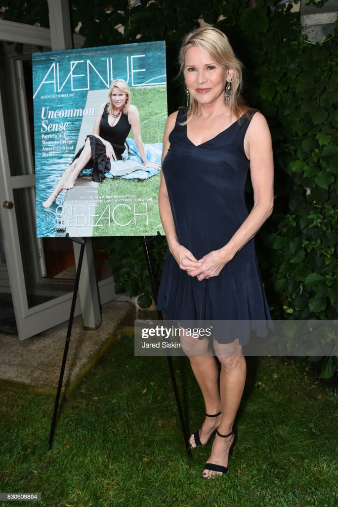 Patricia Duff attends AVENUE on the Beach's Summer Soiree at The Baker House on August 12, 2017 in East Hampton, New York.